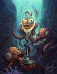 Octo Party by AniaMohrbacher