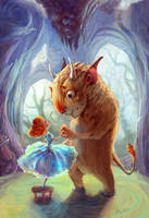 Beauty and the Beast by AniaMohrbacher