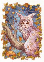 Owl Spirit by AniaMohrbacher