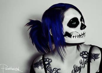 Skeleton Makeup Tutorial by ParenthesisX