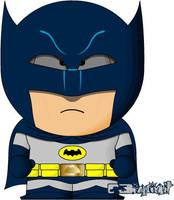 Batman Adam West by bizklimkit