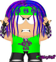 Jeff Hardy by bizklimkit