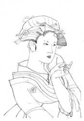geisha by Pasna45