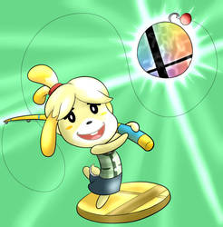 Isabelle by DuskullDraws