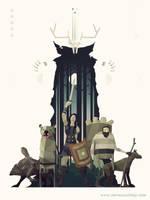 Sword and Sworcery Swixty-Four by SteveCourtney