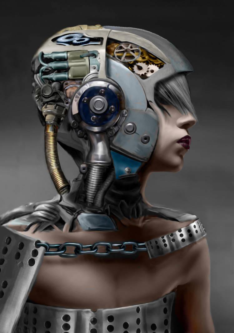 Cyborg Slave Girl by Don-de-chocolate