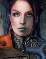Cyborg-Girl Borga by Don-de-chocolate