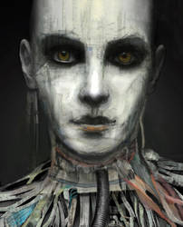 Portrait of a Cyborg II by Don-de-chocolate