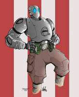 Atomic Robo by firepunk626