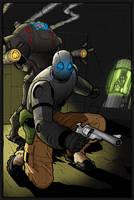 Atomic Robo 2 by firepunk626