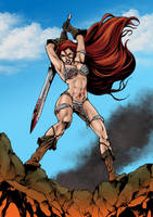 Red Sonja by firepunk626