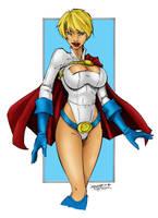 Power Girl by firepunk626