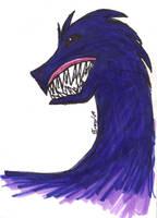 Blue Beast by RoseStarBerry