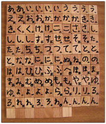 Hiragana Scrabble by Ombry