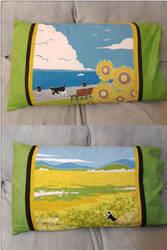 Furoshiki Pillowcase by Ombry