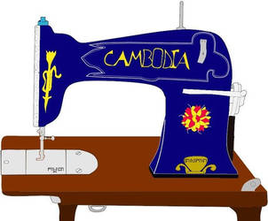 Genera's Tribute to Cambodia's Seamstress by Lafuentedevictorique