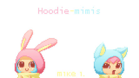 Hoodie-mimis by Mikeinel