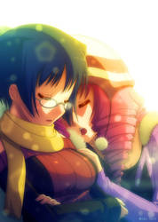 Katawa-Shoujo: Midwinter Artwork by Mikeinel