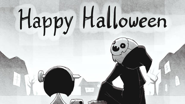 Happy Halloween by Mikeinel
