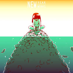 New Year by Mikeinel