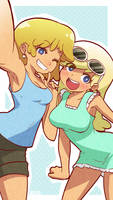 Loud Sisters (Lori+Leni) by Mikeinel