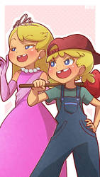 Loud Sisters (Lola+Lana) by Mikeinel
