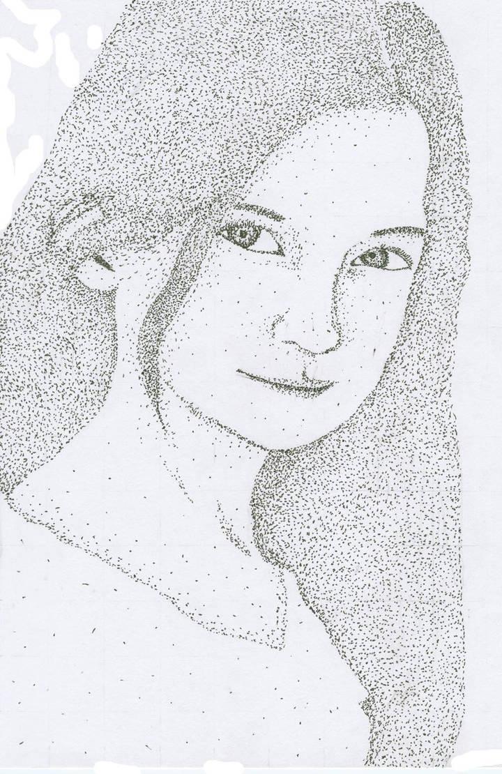 Pointilism Ginny by Kabeebalers