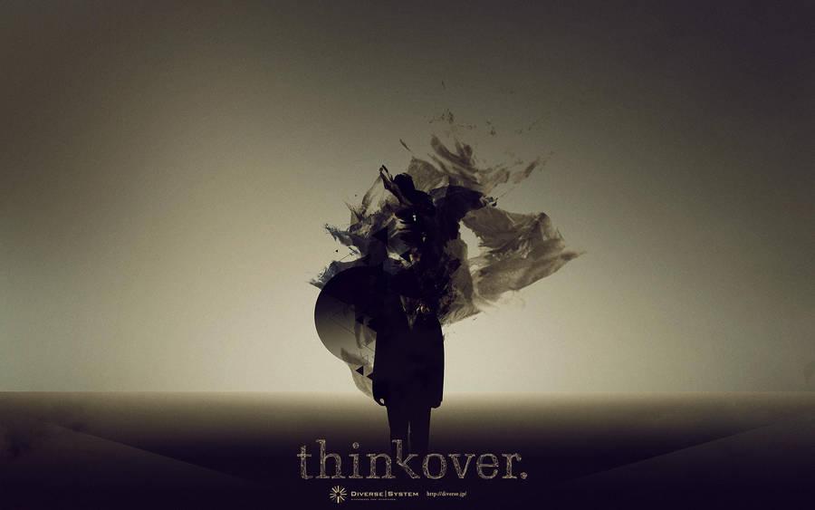 thinkover02 by mashanayuki
