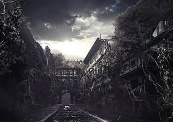 KINJIKA TOSHOKAN by mashanayuki