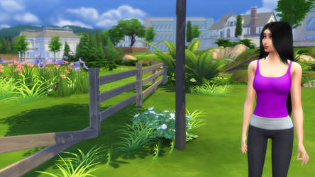 Sims 4 - Out for a walk by ModsReloaded