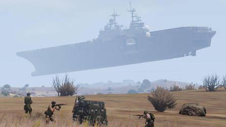 Armed Assault 3 - Floating Carrier by ModsReloaded