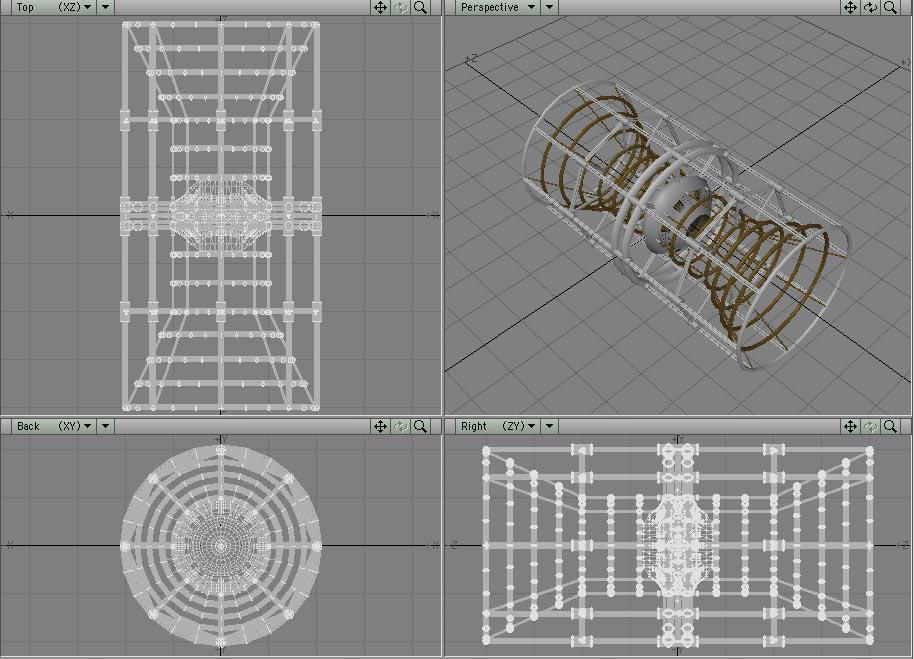 Pathfinder Exploration Vessel by t-subgenius
