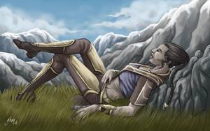 Alderaan relaxing by Asarea
