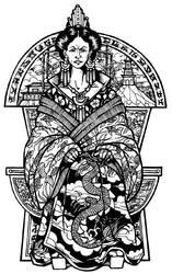 Emperess-widow Tan Shu Yuao by Asarea