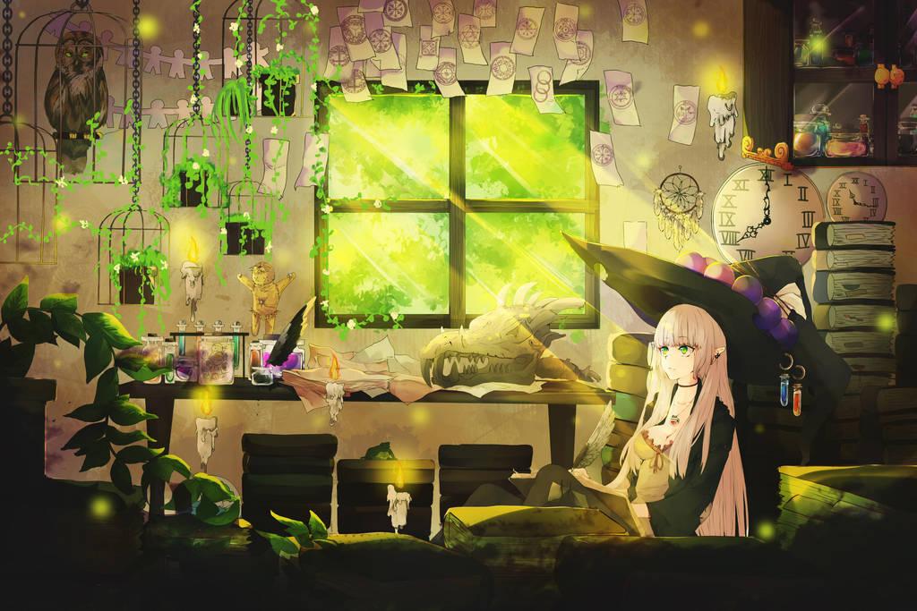 Witch by SaitoIkiru