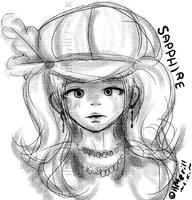 Sapphire by llMerill