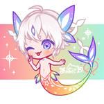 Skyfish Mascot by Jinhii