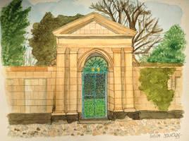 Garden Gate III by MontyMouse