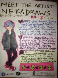 MEET THE ARTIST: NEKADRAWS by Nekadraws