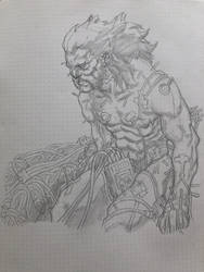 Weapon X kind of morning by KenWongArt