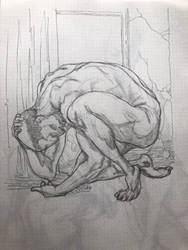 Agony by KenWongArt
