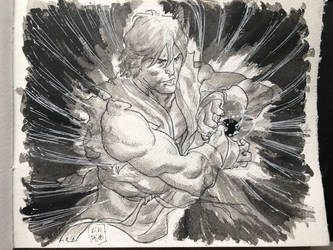 Ken (Street Fighter)  by KenWongArt