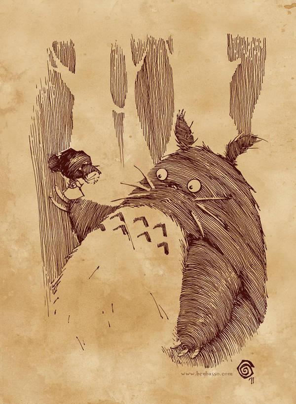 Totoro by BenBASSO