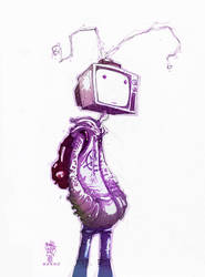 TV Head by BenBASSO