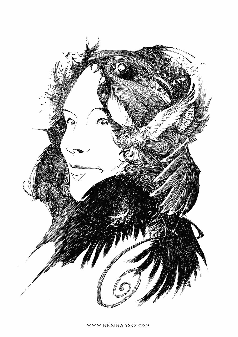 Portrait 2 by BenBASSO