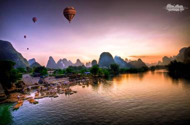 China, Yangshuo: 1 by Blazko