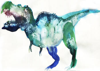 T-rex by KattyC
