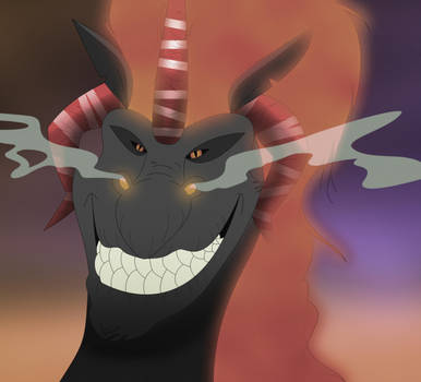 The Dark Dragon Returns by purapuss