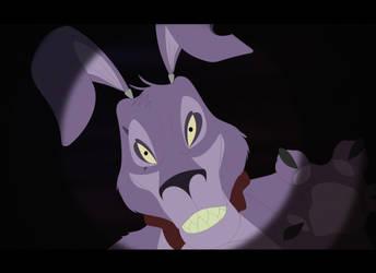 Scary Bunny by purapuss