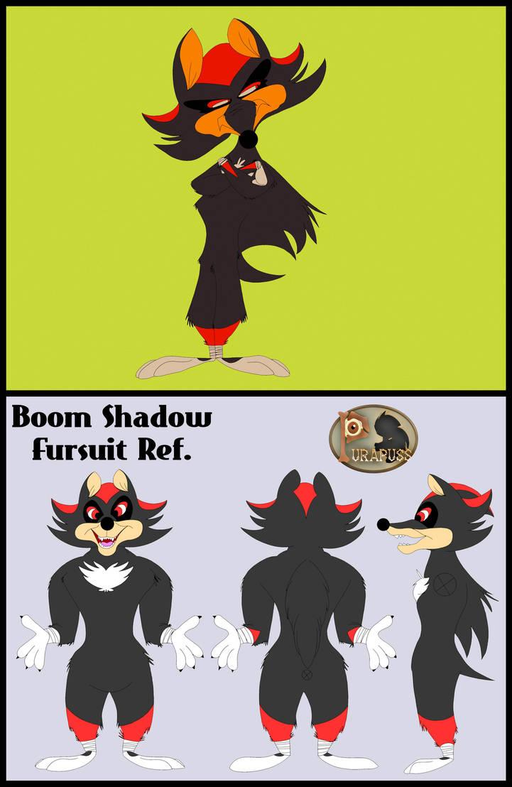 Boom Shadow Fursuit Ref. by purapuss